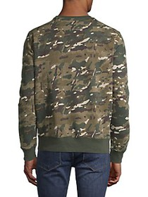 G-Star RAW Camouflage Graphic Long-Sleeve Sweatshi