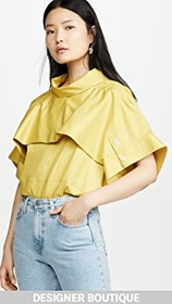 3.1 Phillip Lim Dolman Sleeve Top with Fold Over C