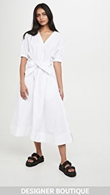 3.1 Phillip Lim Utility Belted Dress with Gathered
