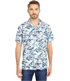 Lacoste Southern France Print Cotton Hawaiian Fit