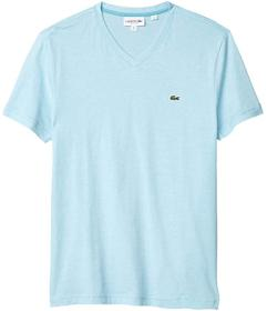 Lacoste V-Neck Stripe T-Shirt