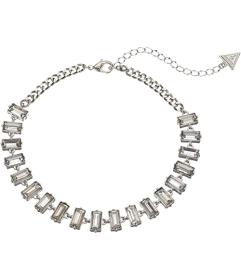 GUESS Baguette Stone Collar Necklace