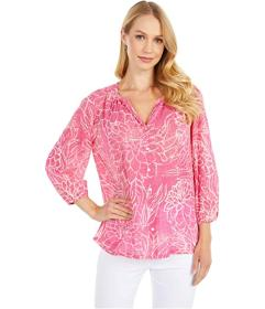 Tommy Bahama Bungalow Blooms Top 3\u002F4 Sleeve