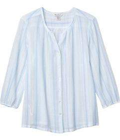 Tommy Bahama Lana Bay Stripe Top 3\u002F4 Sleeve
