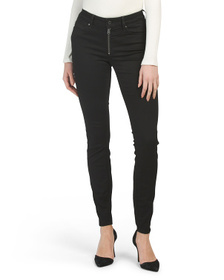 G-STAR Zip High Rise Super Skinny Jeans