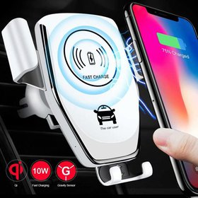 Wireless Car Charger Mount,10W Qi Fast Charging Au on sale at Walmart