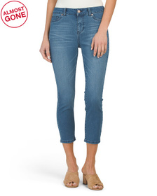 D. JEANS High Waisted Ultra Soft Crop Skinny Jeans