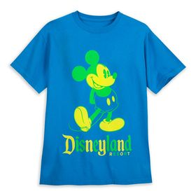 Disney Mickey Mouse Classic Neon T-Shirt for Kids