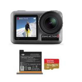 DJI Osmo Action 4K HDR Camera - Bundle With Extra