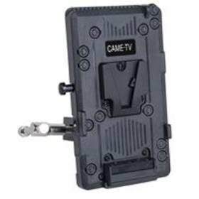 Came-TV V-Lock Plate with Clamp, and D-Tap