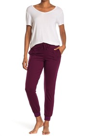 Donna Karan Striped Lounge Joggers