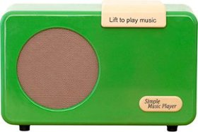 SMPL - Simple Music Player - Green