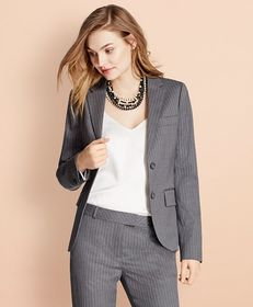 Brooks Brothers Pinstripe Stretch Wool Two-Button