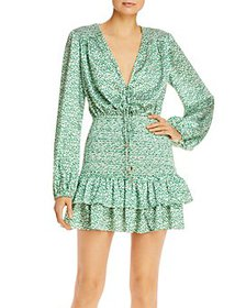 Significant Other - Hedi Printed Smocked Dress