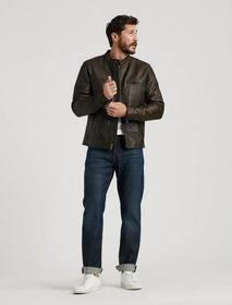 Lucky Brand Leather Bonneville Jacket