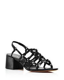 3.1 Phillip Lim - Women's Cube Strappy Caged Sanda