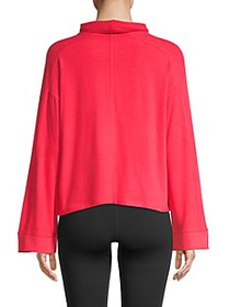 DKNY Funnel Neck Bell Sleeve Pullover