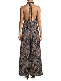 Free People Kissing Sunlight Floral Jumpsuit