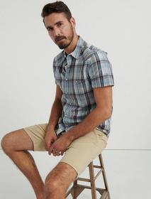 Lucky Brand Stretch Twill Flat Front Short