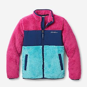 Kids' Quest Plush Fleece Jacket - Color Block