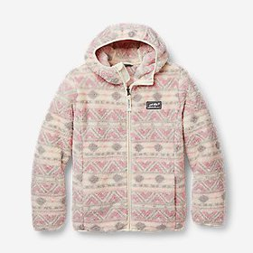 Kids' Quest Plush Fleece Hooded Jacket - Print