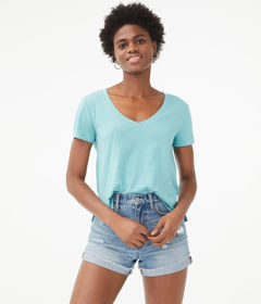 Aeropostale Perfect Cotton V-Neck Tee