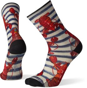 Smartwool Curated Lobster Pound Crew Socks - Men's