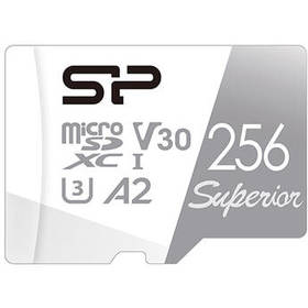 Silicon Power 256GB Superior UHS-I microSDXC Memor