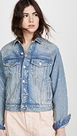 Free People Night After Night Denim Jacket
