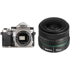 Pentax KP DSLR Camera with 35mm f/2.4 Lens Kit (Si