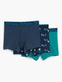 Lucky Brand Skull Cocktails Multi Boxer Briefs