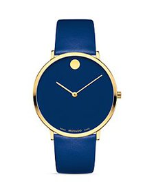 Movado - Museum Dial Ultra Slim Watch, 40mm