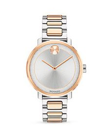 Movado - Two Tone Watch, 34mm