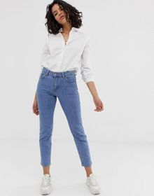 Dr Denim Edie high waisted slim cropped jeans