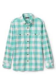Lands End Men's Comfort First All Season Flannel S