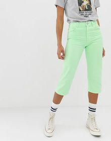 ASOS DESIGN florence authentic straight leg croppe