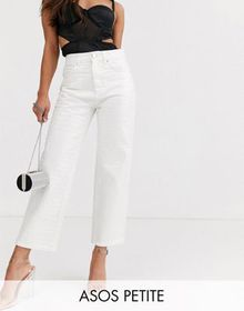 ASOS DESIGN Petite Florence authentic straight leg