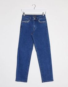 Vila slim leg jeans in blue