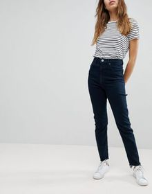 ASOS DESIGN high rise farleigh 'slim' mom jeans in