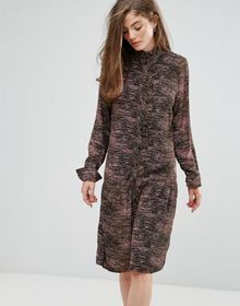 Gestuz Iva Tiger Army Print Dress