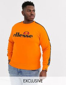 ellesse Plus Ragola sweat with sleeve taping in or
