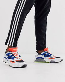 adidas Originals LXCON 94 sneakers in white with b