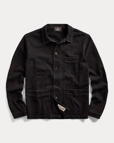 Ralph Lauren Cotton Jersey Chore Coat