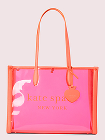 Kate Spade market see-through large tote