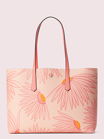 Kate Spade molly falling flower large tote
