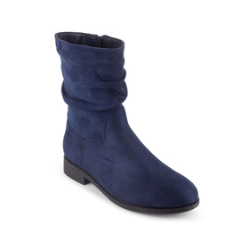 Womens Wanted Magical Rouched Ankle Boots