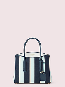 Kate Spade margaux canvas stripe medium satchel