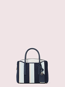 Kate Spade margaux canvas stripe mini satchel