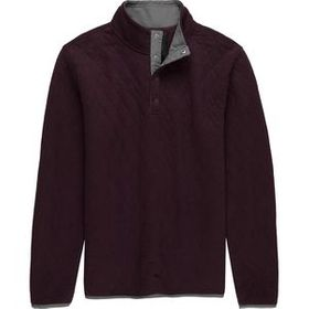Stoic StoicQuilted Snap Mockneck Pullover - Men's