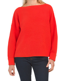 FRENCH CONNECTION Waffle Knit Mozart Sweater